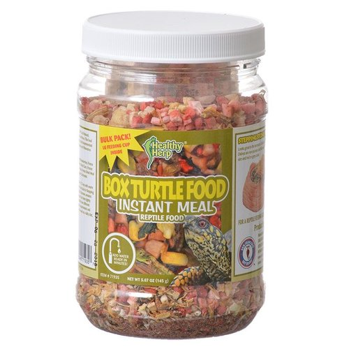 Healthy Herp Box Turtle Food Instant Meal 5.1 Ounce by Brand New
