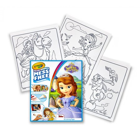 Crayola Color Wonder Sofia the First, 18 Coloring Pages 10