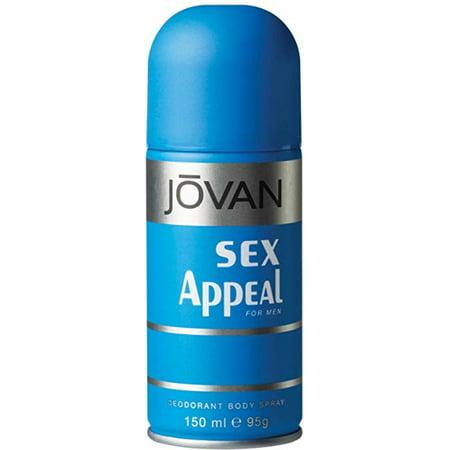 Paquete de 4 - Jovan El atractivo sexual desodorante corporal Hombres 50 oz