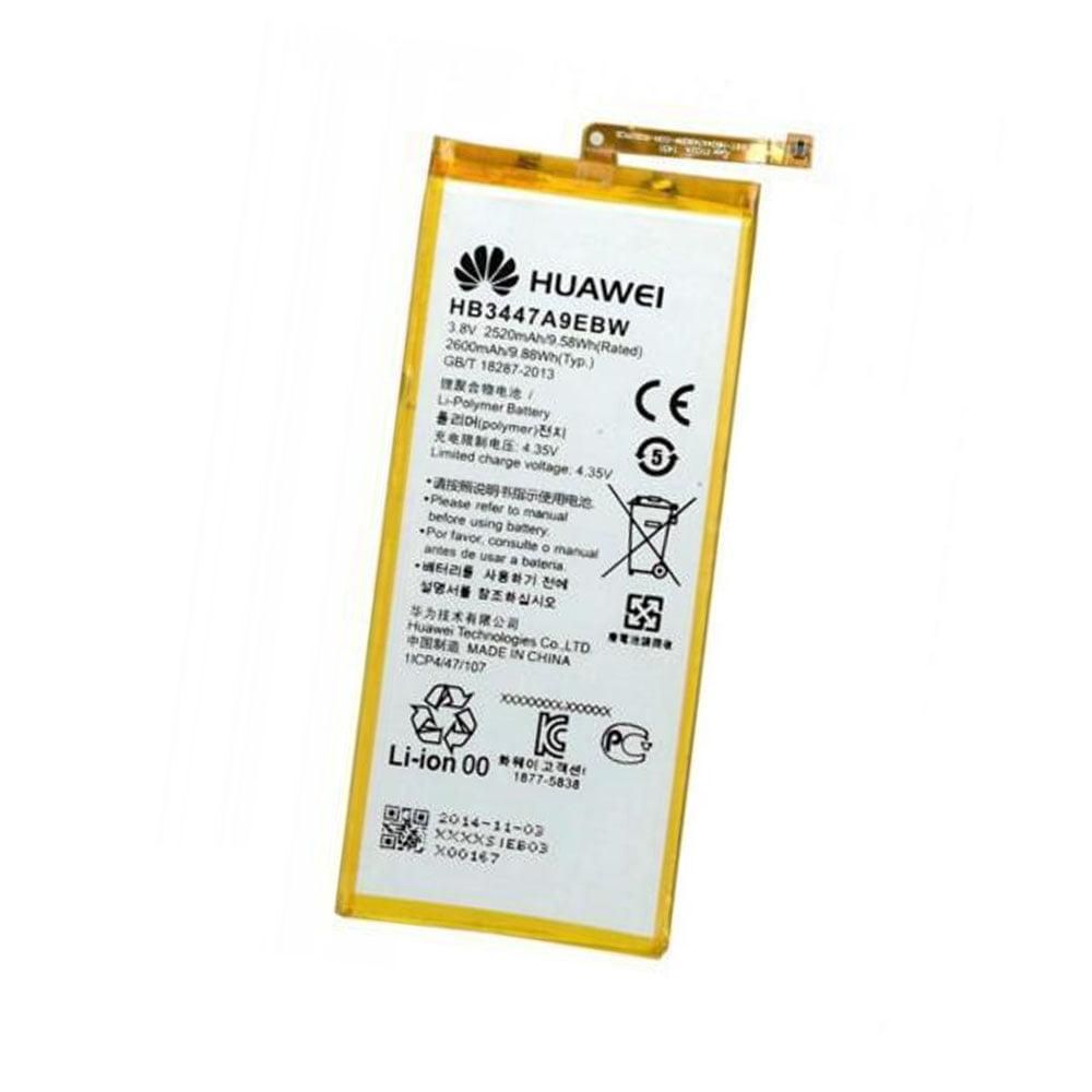 Original Huawei HB3447A9EBW 2600mAh Battery for Huawei Ascend P8 in Non-Retail Packaging