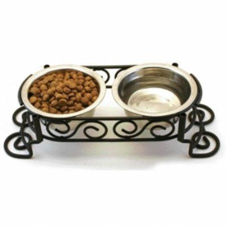 Diner Scroll (Stainless Steel Scroll Work Double Diner)