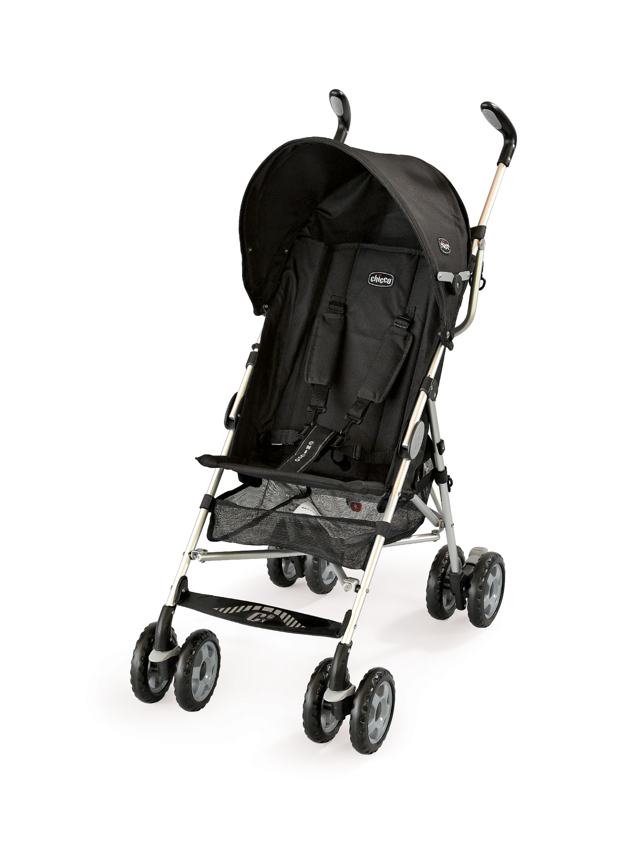 Chicco C6 Lightweight Stroller Black by Chicco