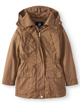 5a9011a183f47 Product Image Cotton Anorak Jacket with Pockets (Little Girls & Big Girls)