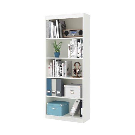 South Shore Smart Basics 5 Shelf 68 3 4  Bookcase  Multiple Finishes