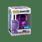 Funko POP! Marvel: Avengers Endgame - W2 - Hulk (Purple Chrome) (Walmart Exclusive)
