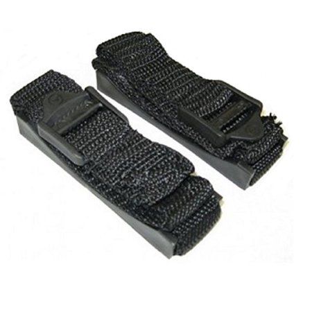 """Bazooka ST8 Replacement Mounting Straps For 8"""" Amplified Tubes (Black)"""