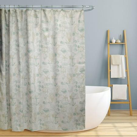 Fabric Canvas Shower Curtain 70 Quot X70 Quot Jamie Fun Nautical