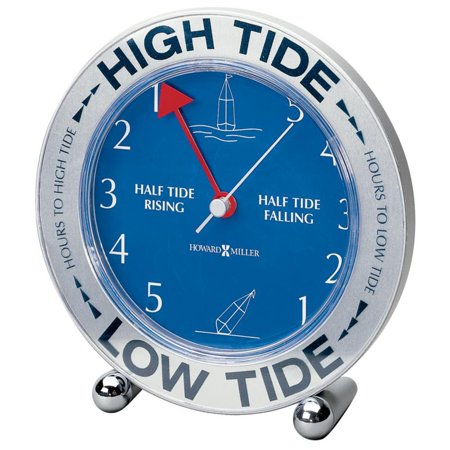 Howard Miller Tide Mate III Desktop Clock (Howard Miller Tempus Fugit Grandfather Clock Value)