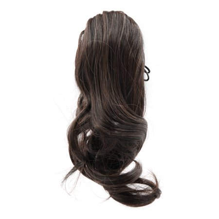 (Synthetic Drawstring Wavy Curly Ponytail Hairpiece for Women #2)