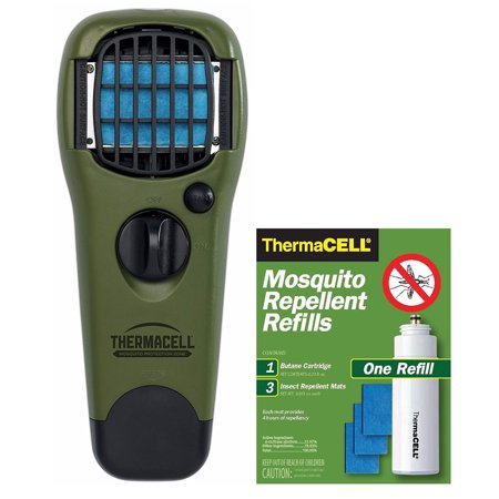 ThermaCELL Mosquito Repellent Device with Free Refill,