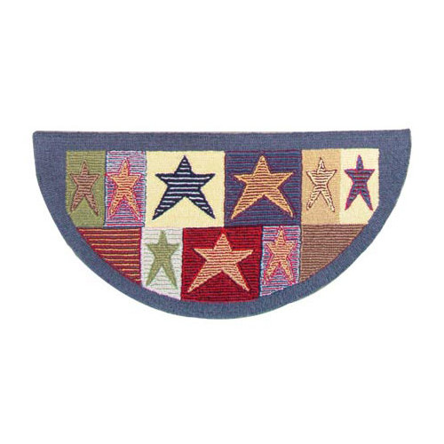 Patch Magic Allstar Fire Place Area Rug