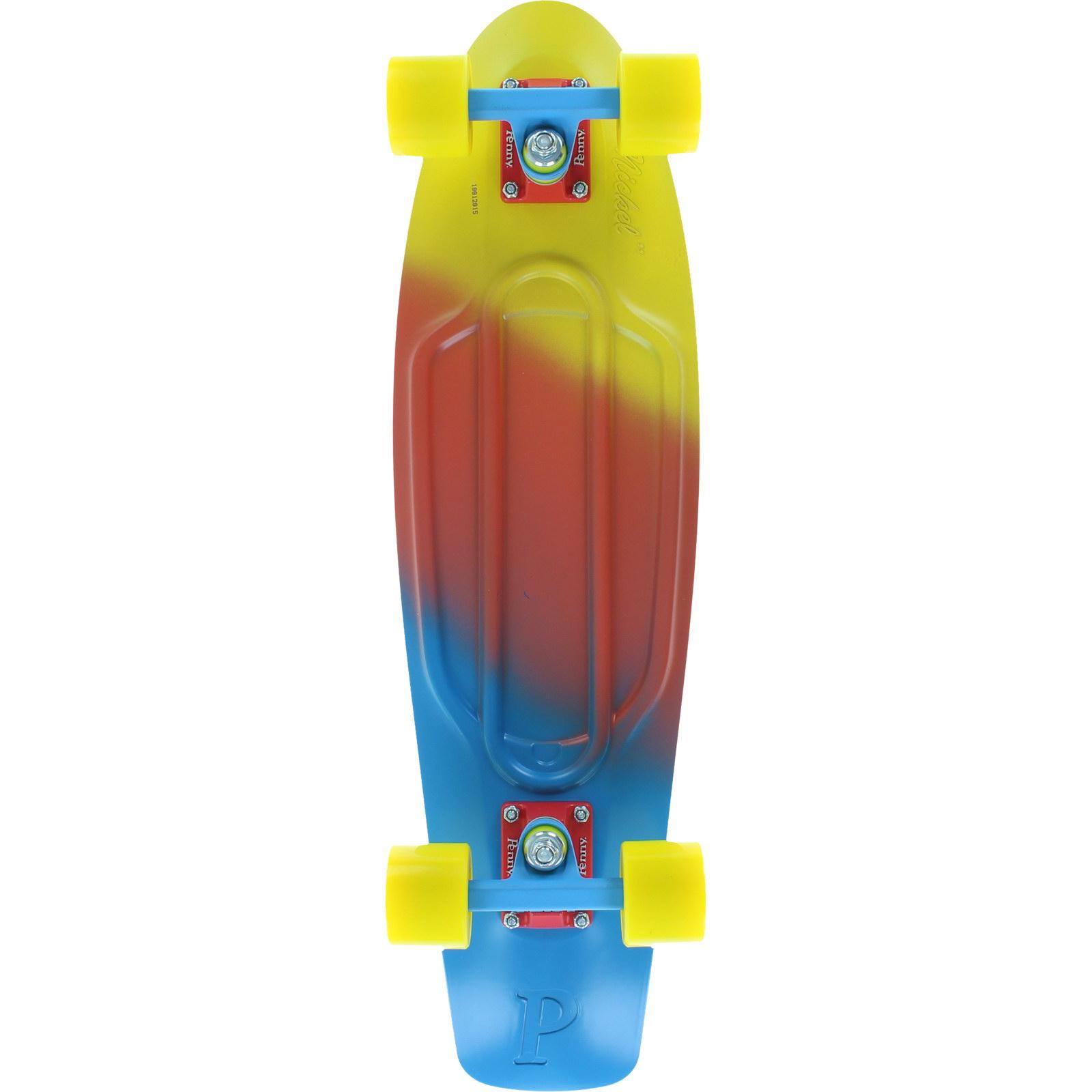 "PENNY Skateboards Canary Fade 27"" Complete Cruiser Skateb..."