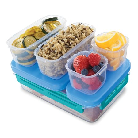 Rubbermaid LunchBlox Leak-Proof Entree Lunch Container Kit, Large ()