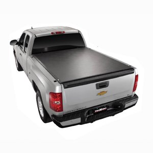 Truxedo 578101 Tonneau Cover Lo Pro QT (R) Soft Roll-Up Velcro; Lockable Using Tailgate Handle Lock; Black; Vinyl - image 1 of 2