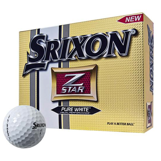 Srixon Z-STAR Golf Balls 12-Pack in White 184101