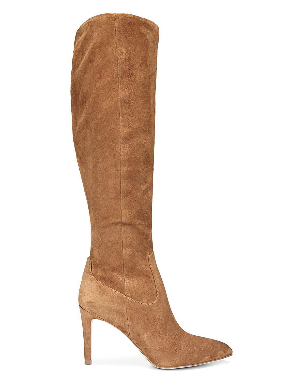 New Sam Edelman Womens F3508l3 Brown Fashion Boots Size 6.5