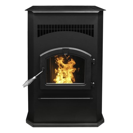 Pleasant Hearth 50,000 BTU Cabinet Pellet - Stove Hearth