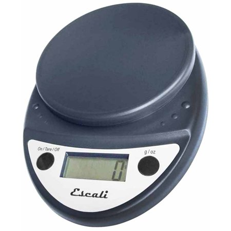 Escali Primo Digital Food Scale P115ch Black