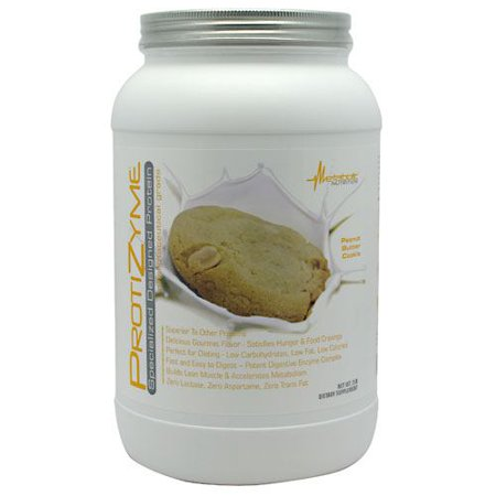Metabolic Nutrition Protizyme Peanut Butter Cookie Dietary Supplement Powder, 32 oz