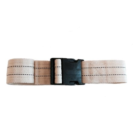 - SafetySure Pinstripe Patient Transfer & Walking Gait Belt w/ Plastic Buckle 54