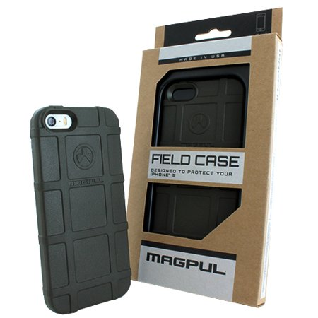 Magpul iPhone SE / 5s / 5 Case, Magpul Industries Field Case Phone Carrying Cover for Apple iPhone SE / 5s / 5 Retail Package MAG452-ODG (Olive Drab (Magpul Industries Iphone 5 5s Bump Case)