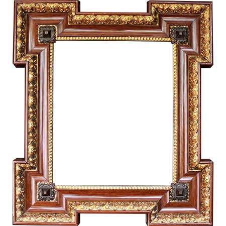 LAMINATED POSTER Picture Frame Gold Stucco Frame Frame Wooden Frame Poster Print 24 x 36