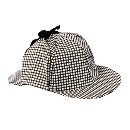 Morris Costumes Inspector Economy Double Billed Hat Black White One Size, Style GC143](Billy Costume)
