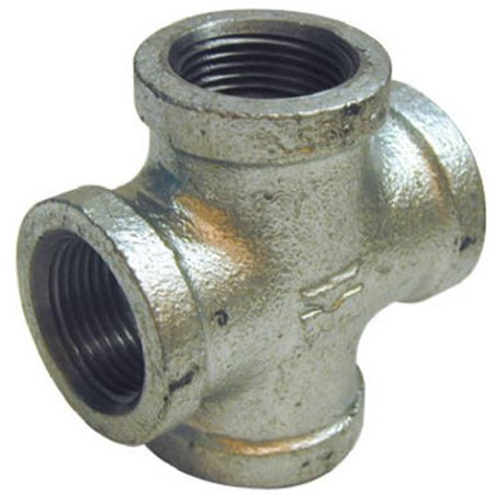 Pannext Fittings G-CRS10 1 in. Galvanized Cross - image 1 of 1