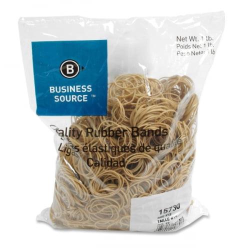 Business Source BSN15730 Rubber Bands-Taille 12 - Cr-pe 1LB-BG-naturel - image 1 de 1