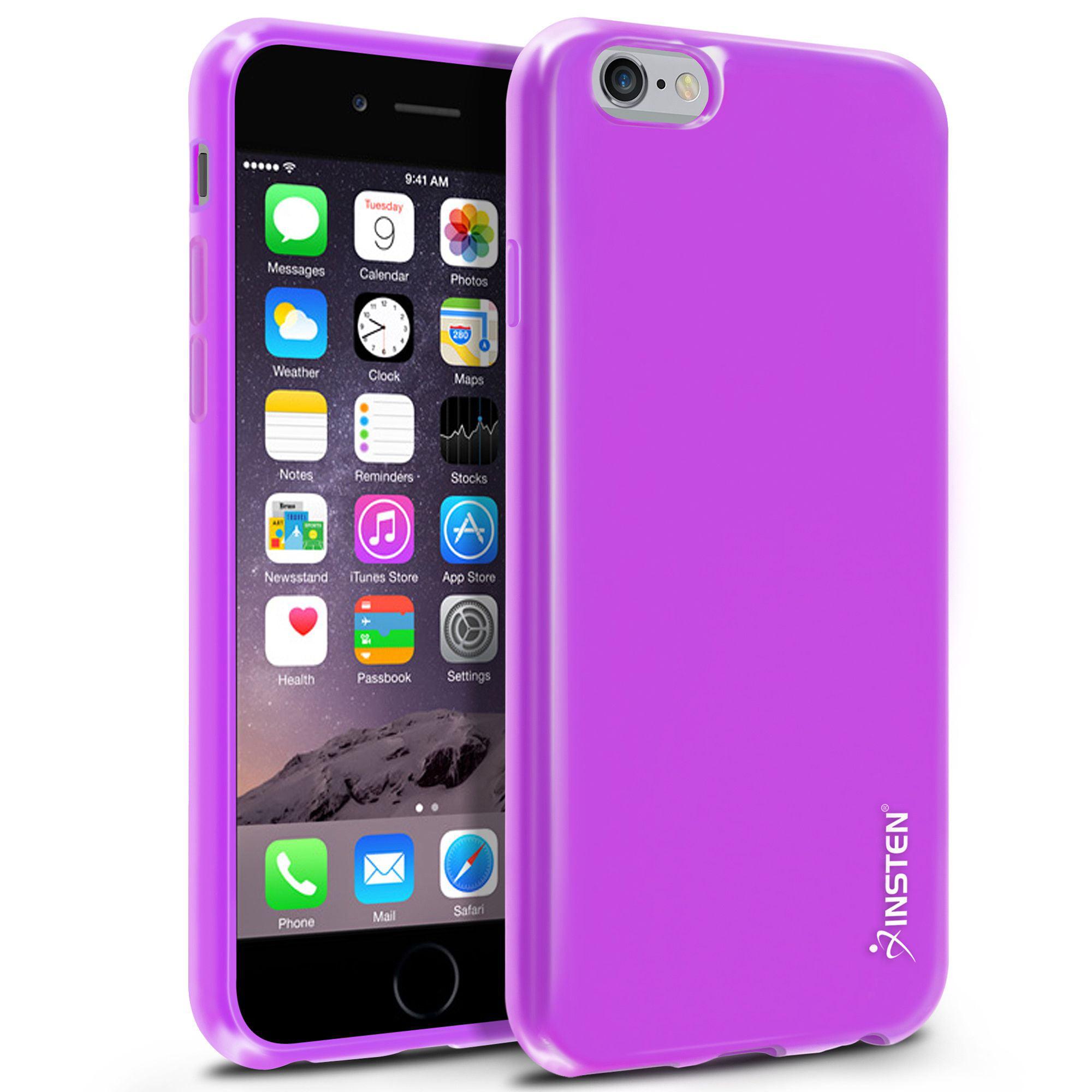 """Insten TPU Ultra Slim Skin Gel Rubber Cover Case For iPhone 6 6S 4.7"""""""