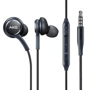 Hands-free AKG Earphones Headphones Headset w Mic Earbuds Earpieces X2R for Samsung Galaxy Tab 4 NOOK 10.1 (SM-T530) 3 10.1 GT-P5210 2 10.1, S8 Plus S6, S10 Plus J7 Sky Pro active, S7 S5