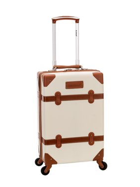 Rockland Luggage Stage Coach Hardside Rolling Trunk, F2291