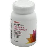 GNC Women's Hair, Skin, & Nails Formula Caplets, 120 Ct