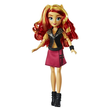 My Little Pony Equestria Girls Sunset Shimmer Classic Style Doll (My Little Pony Gift Bag)