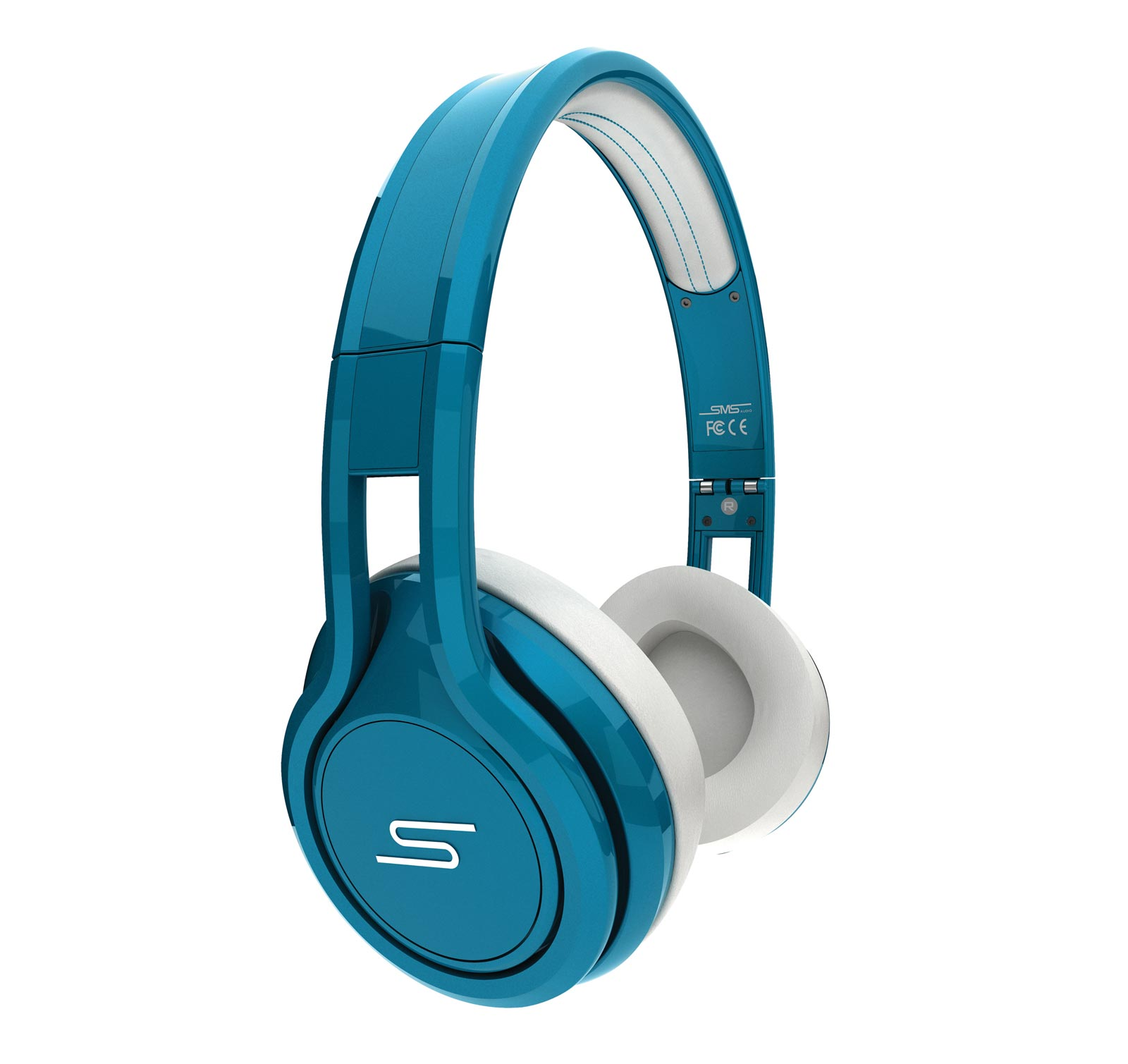 SMS Audio Street by 50 Cent Wired On-Ear - Open Box Headphones - Teal