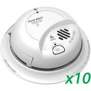 First Alert BRK SC9120B (10pack) Smoke & Carbon Monoxide Detector w/ Batt Backup