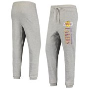 Men's Heathered Gray Los Angeles Lakers Curb Cuffed Tri-Blend Pants