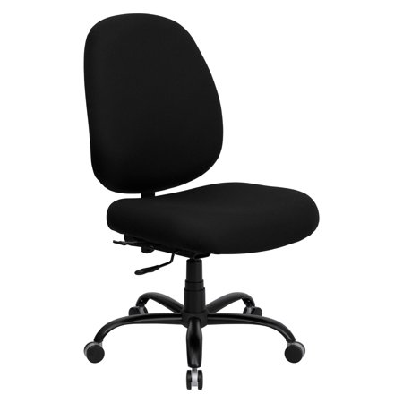 Flash Furniture Hercules Series 500 Lbs  Capacity Big And Tall Office Chair With Extra Wide Seat   Black