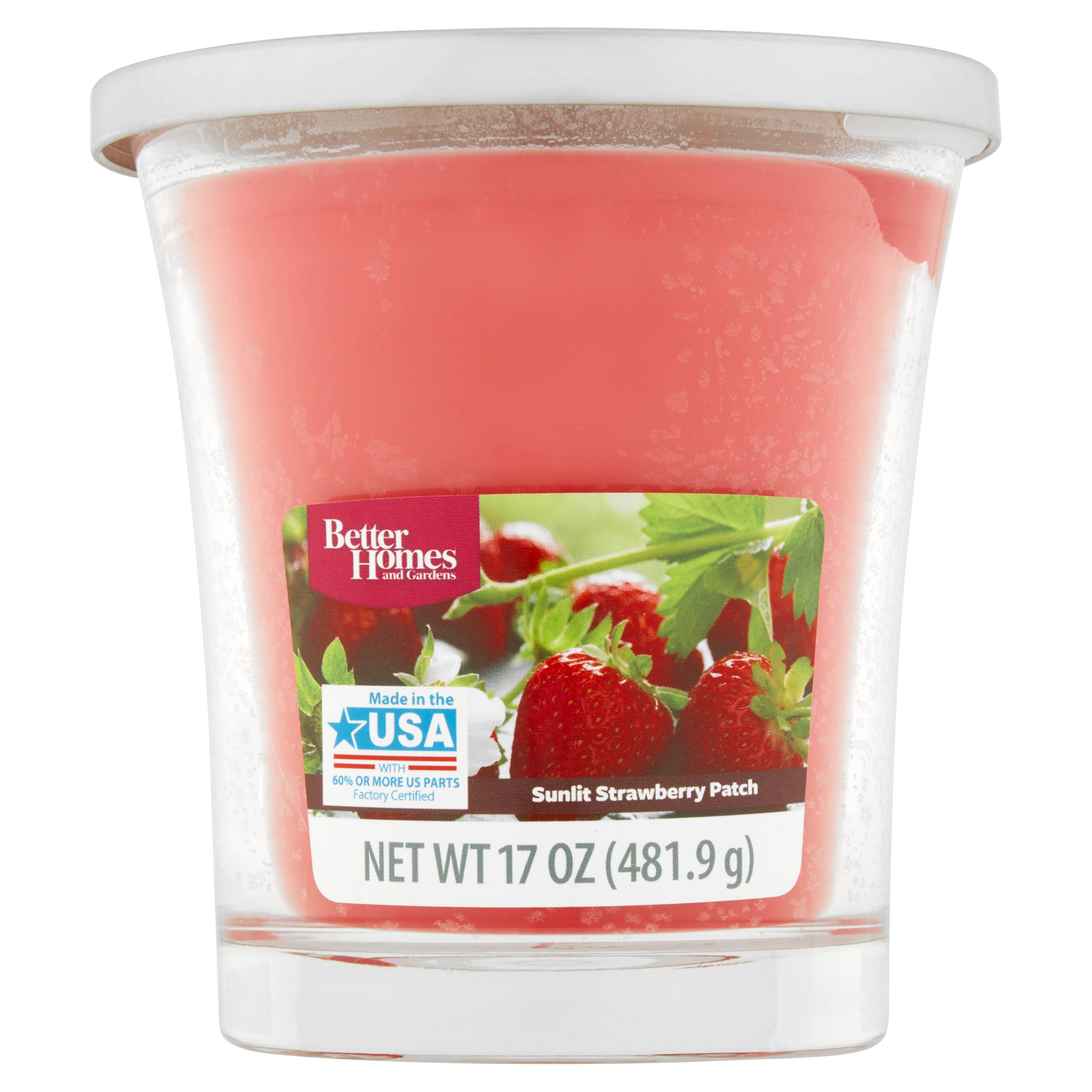 Better Homes and Gardens Sunlit Strawberry Patch Candle, 17 oz by Wal-Mart Stores, Inc.