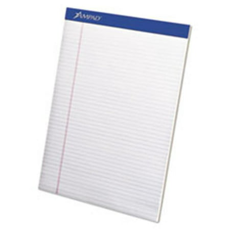 - Tops Products 20315 Mead Legal Ruled 8.5 x 11 Pad, White - 50 Sheets