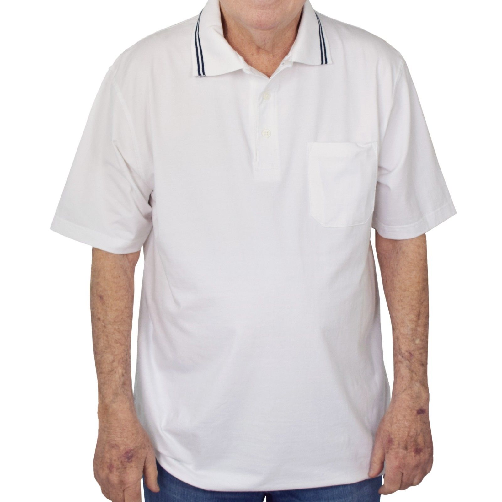 New with Tags Windham Pointe Men's Polo Golf Shirt with Pocket - 5 Colors