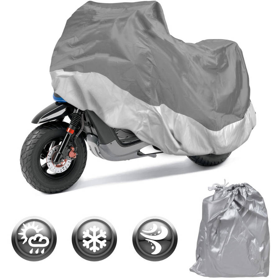 Motorcycle Cover Waterproof Outdoor Motorbike All-Weather Protection, S