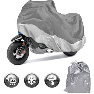 Motorcycle Cover Waterproof Outdoor Motorbike All-Weather Protection, Size Small