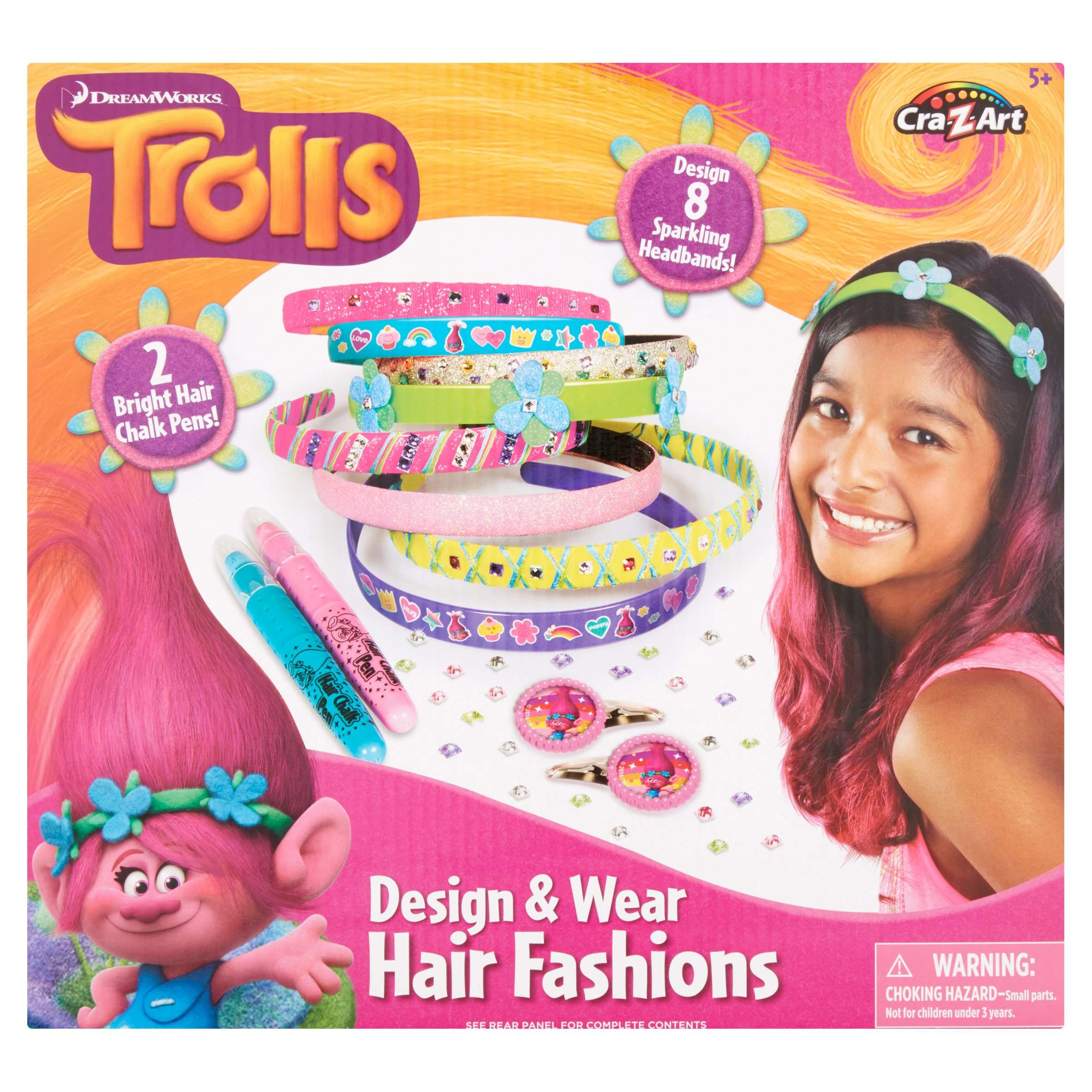 Cra-Z-Art Dreamworks Trolls Design & Wear Hair Fashions by Wal-Mart Stores, Inc.