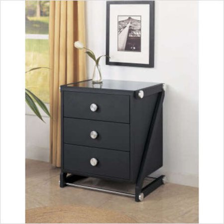 powell furniture z bedroom three drawer chest