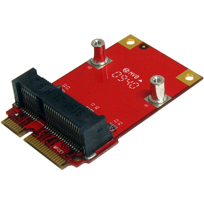 StarTech Half Size to Full Size Mini PCI Express Adapter - Mini PCI Express