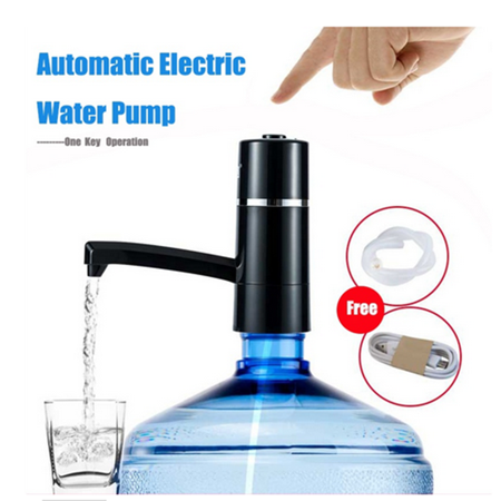 Yosoo Automatic Wireless Rechargeable Electric Gallon Bottle Water Pump Drinking Pure Water Dispenser - image 7 de 7