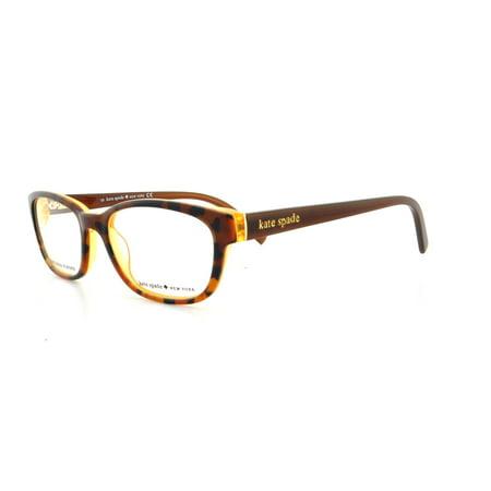 449b13b349 KATE SPADE Eyeglasses BLAKELY 0JMD Tortoise Gold 50MM - Walmart.com