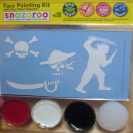 Snazaroo Pirate Skull Face Paint Kit with