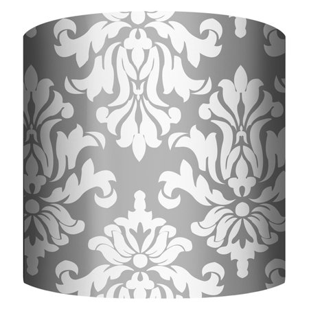 PTM Images Damask Drum Lamp Shade